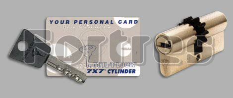 Ключи и карточка 7x7